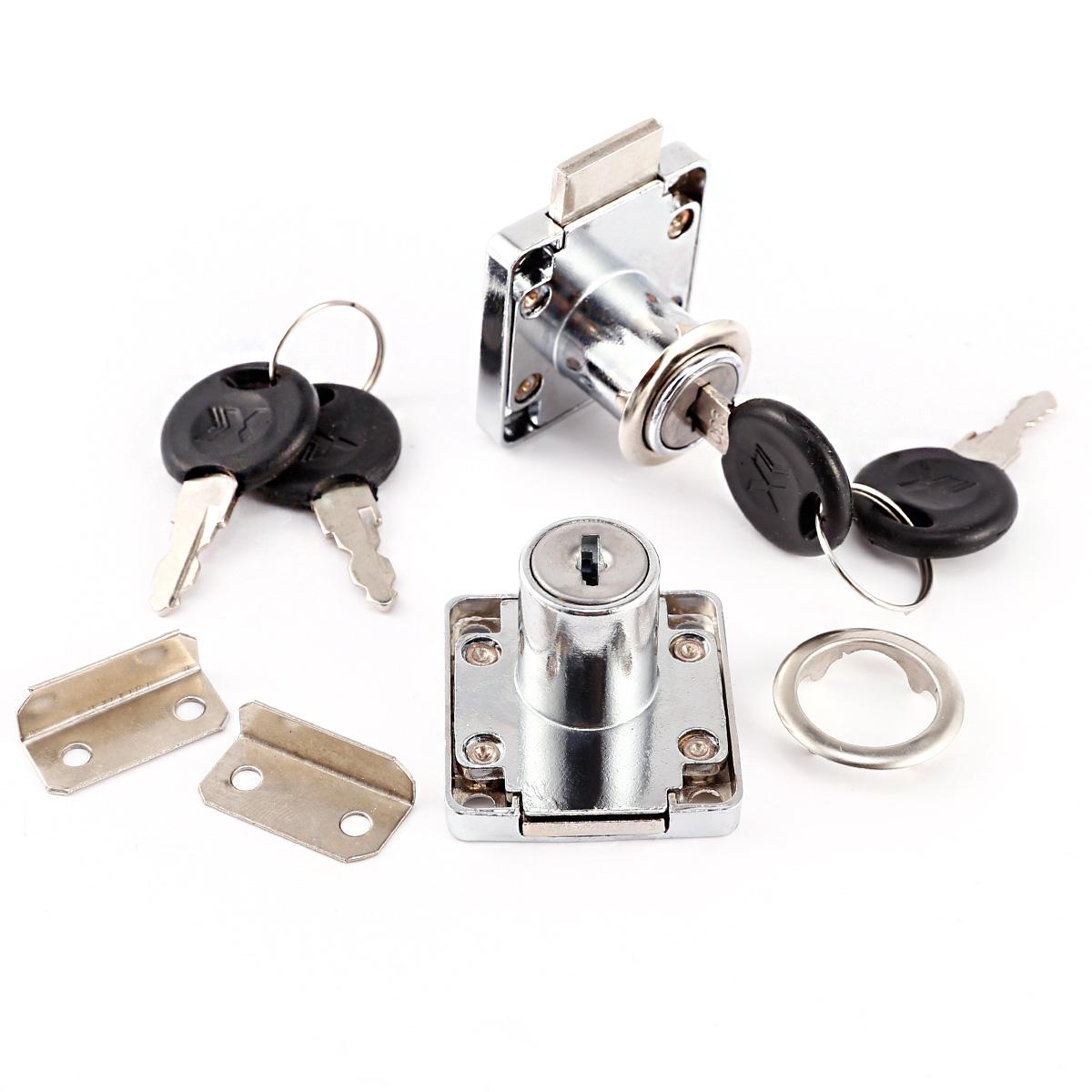 10X 30mm 2 Keyed Tubular Cam Lock For RV Camper Drawer File Cabinet Toolbox
