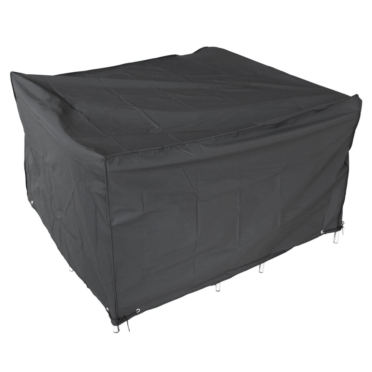 abdeckung schutzh lle f r gartenm bel gartentisch abdeckplane abdeckhaube 120cm ebay. Black Bedroom Furniture Sets. Home Design Ideas