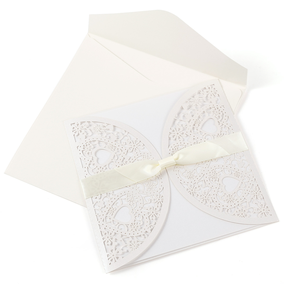 Elegant 10er. Papier Einladungskarten Einladung U0026 Umschlag Set Hochzeit,  Einladungsentwurf