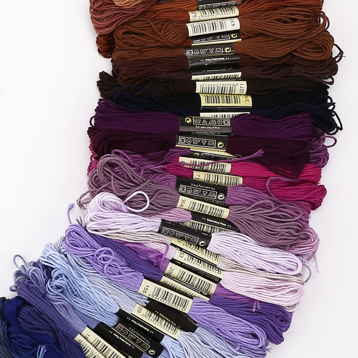 50-300-Color-Cross-Stitch-Thread-Embroidery-Floss-Sewing-Skeins-100-Cotton-Line thumbnail 10