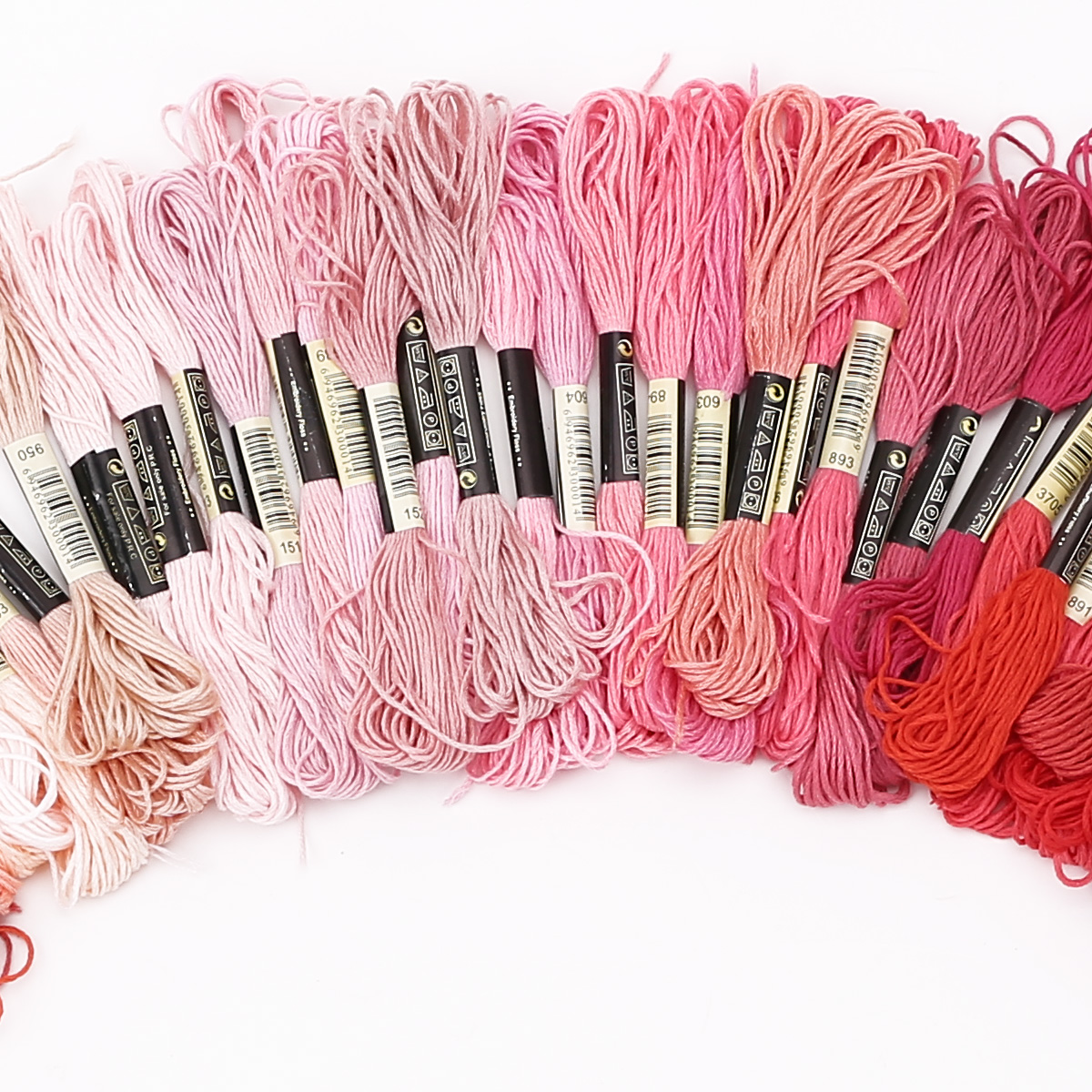 50-300-Color-Cross-Stitch-Thread-Embroidery-Floss-Sewing-Skeins-100-Cotton-Line thumbnail 9