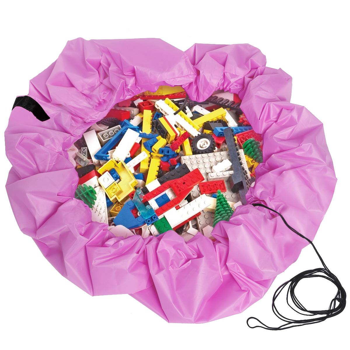 sac organisateur rangement jouet enfant stockage tapis jeu pochette rapide 150cm ebay. Black Bedroom Furniture Sets. Home Design Ideas