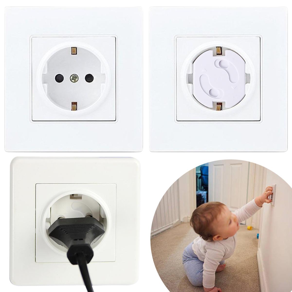 20x cache prise rotatif pour prise de courant electrique protection