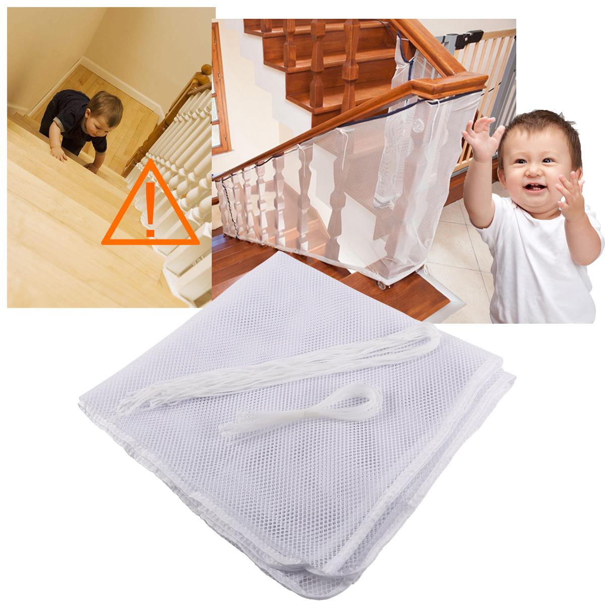 3m filet balcon escalier protection b b enfant s curit filet rampe balustrade ebay. Black Bedroom Furniture Sets. Home Design Ideas