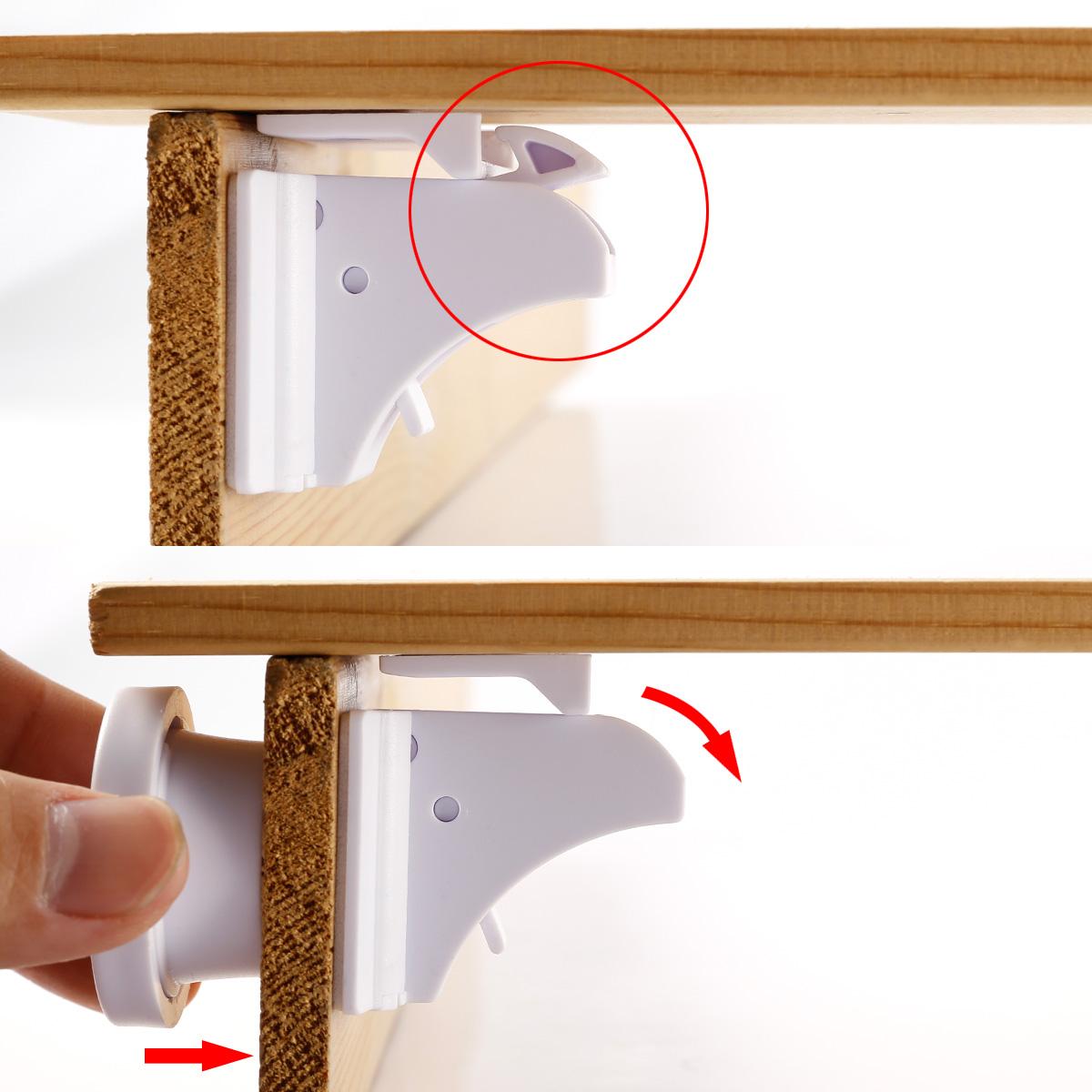 16x Baby Child Kids Pet Proof Cupboard Door Drawer Safety