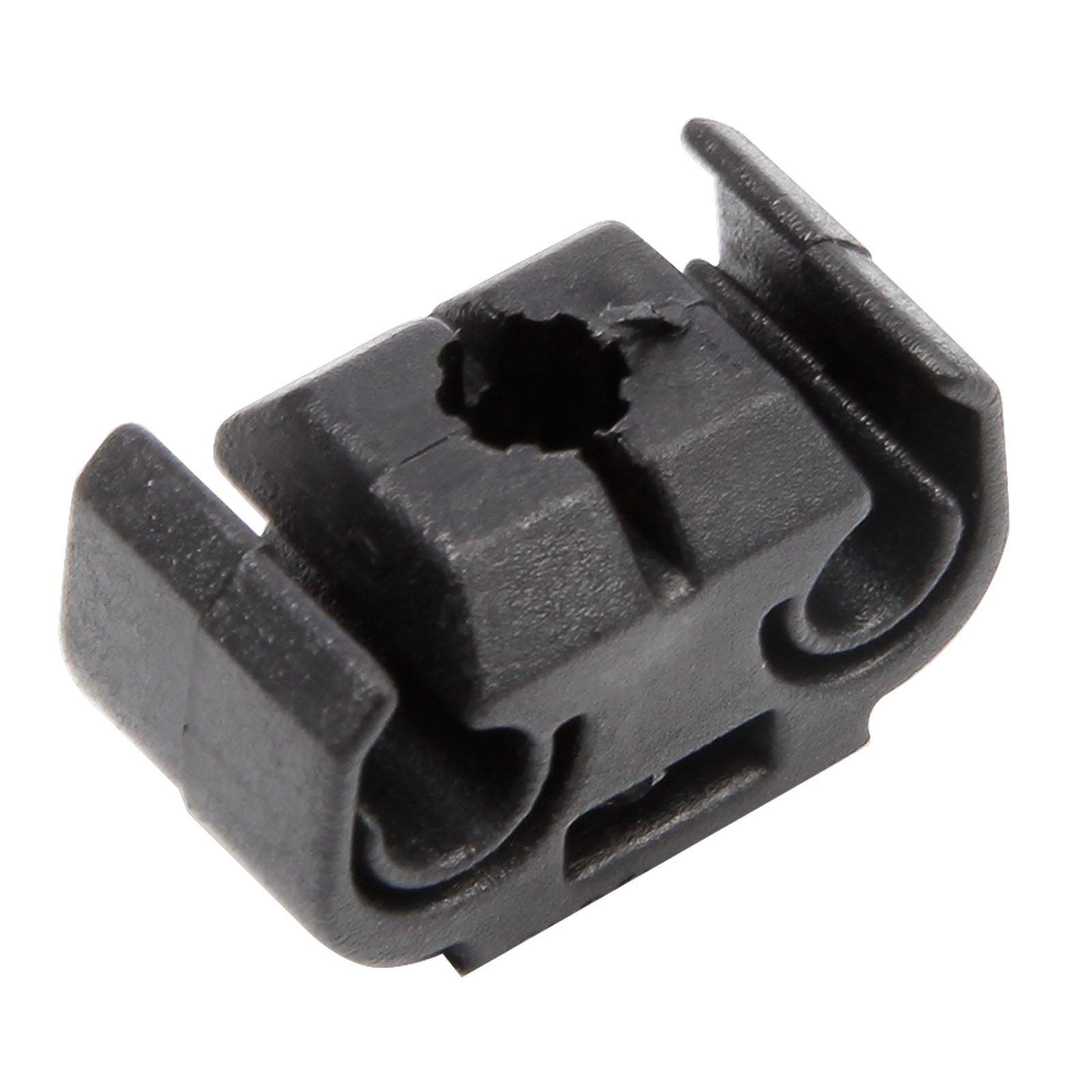 40 BRAKE PIPE LINE CABLE HOLDER CLIP MAXIMUM DIAMETER 5MM FITS 9MM HOLE