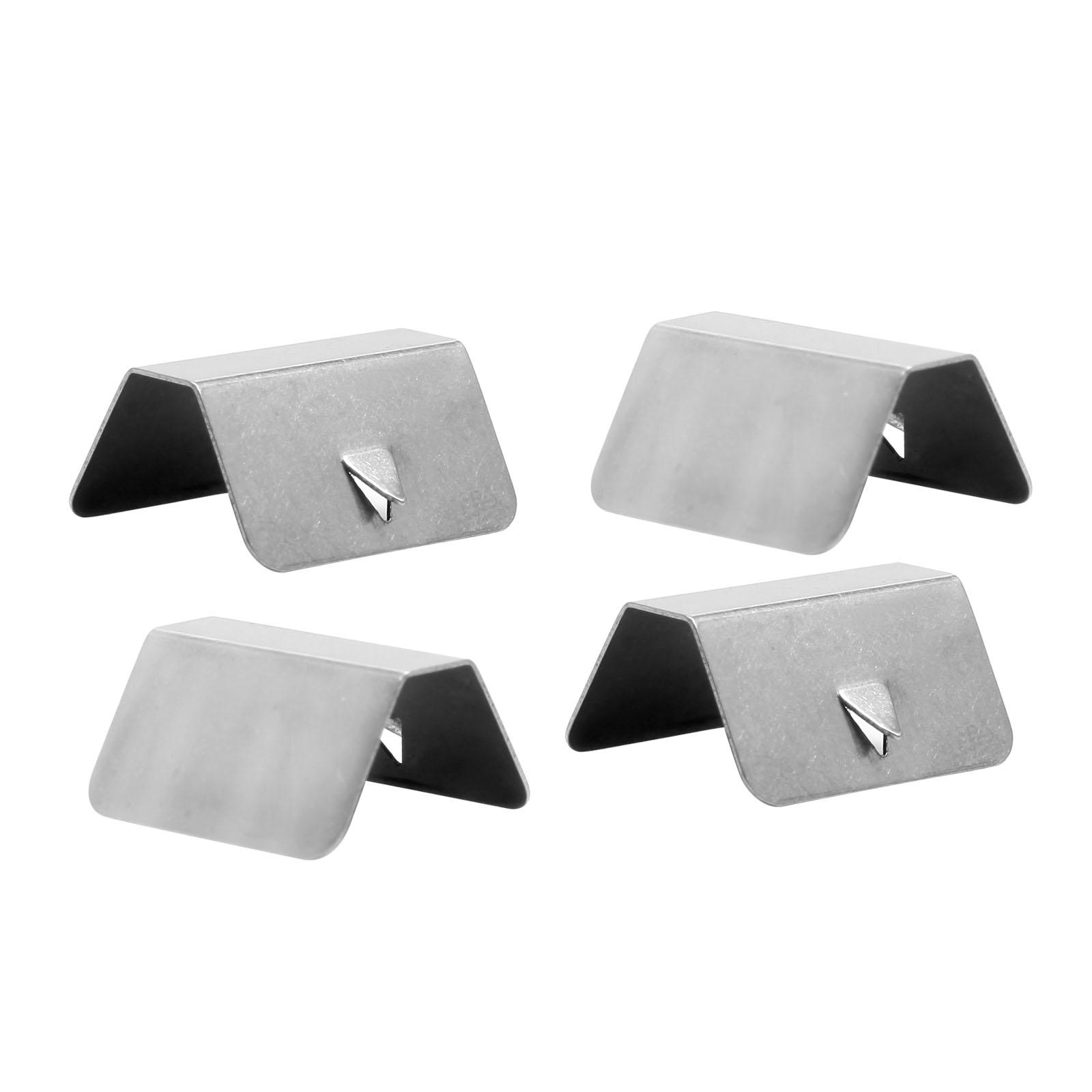 4x Clips déflecteurs d/'air Pluie Canal Pour Voiture Heko G3 Piece attache