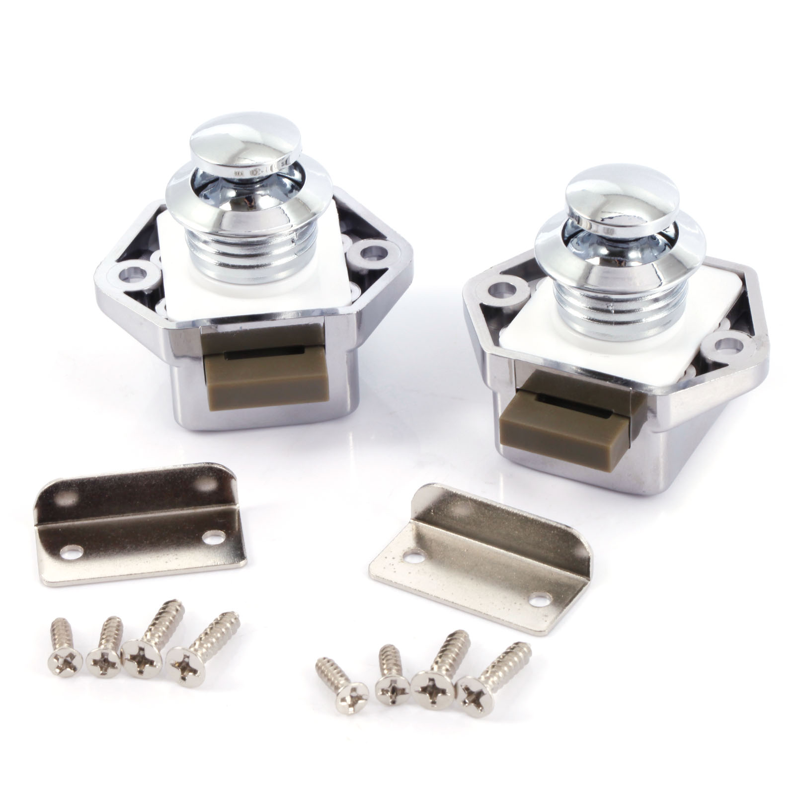 Picture of: Rv Cabinet Catch Motorhome Cabinet Door Catch Pull To Open 2 Pack Ushirika Coop