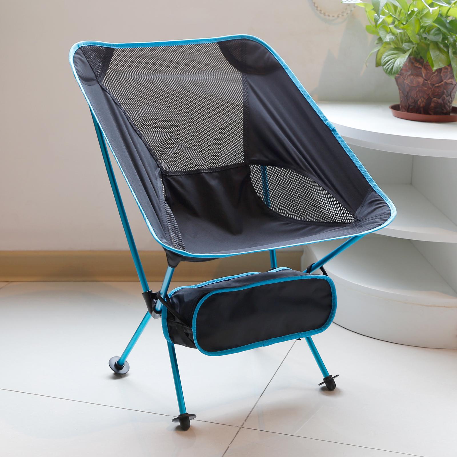 chaise portable pliant si ge de p che camp randonn e. Black Bedroom Furniture Sets. Home Design Ideas