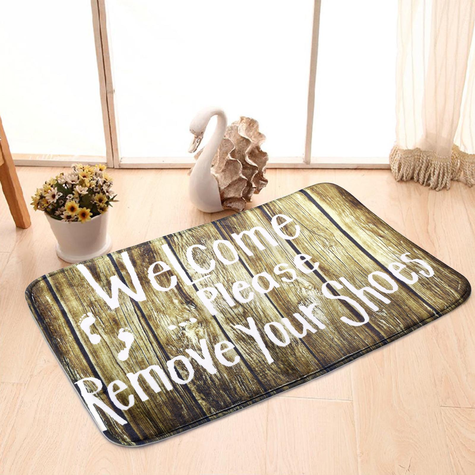 Paillasson d 39 entr e tapis pour cuisine tapis antid rapant de salon motif vivant ebay for Tapis pour cuisine original