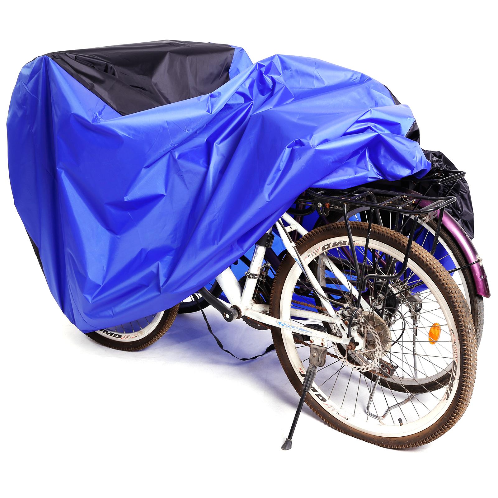Fahrradgarage Rollerabdeckung Fahrradabdeckung Fahrradhülle Abdeckplane blau