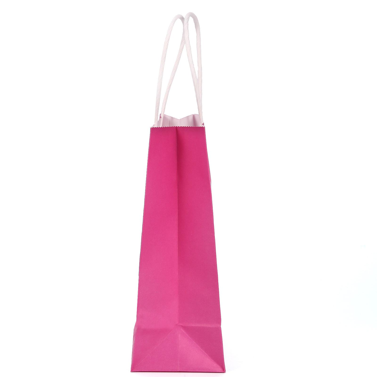 Sac de papier kraft pochette sachet pour bijoux cadeaux f te mariage 15x8x21cm ebay - Petit sac en papier pour mariage ...