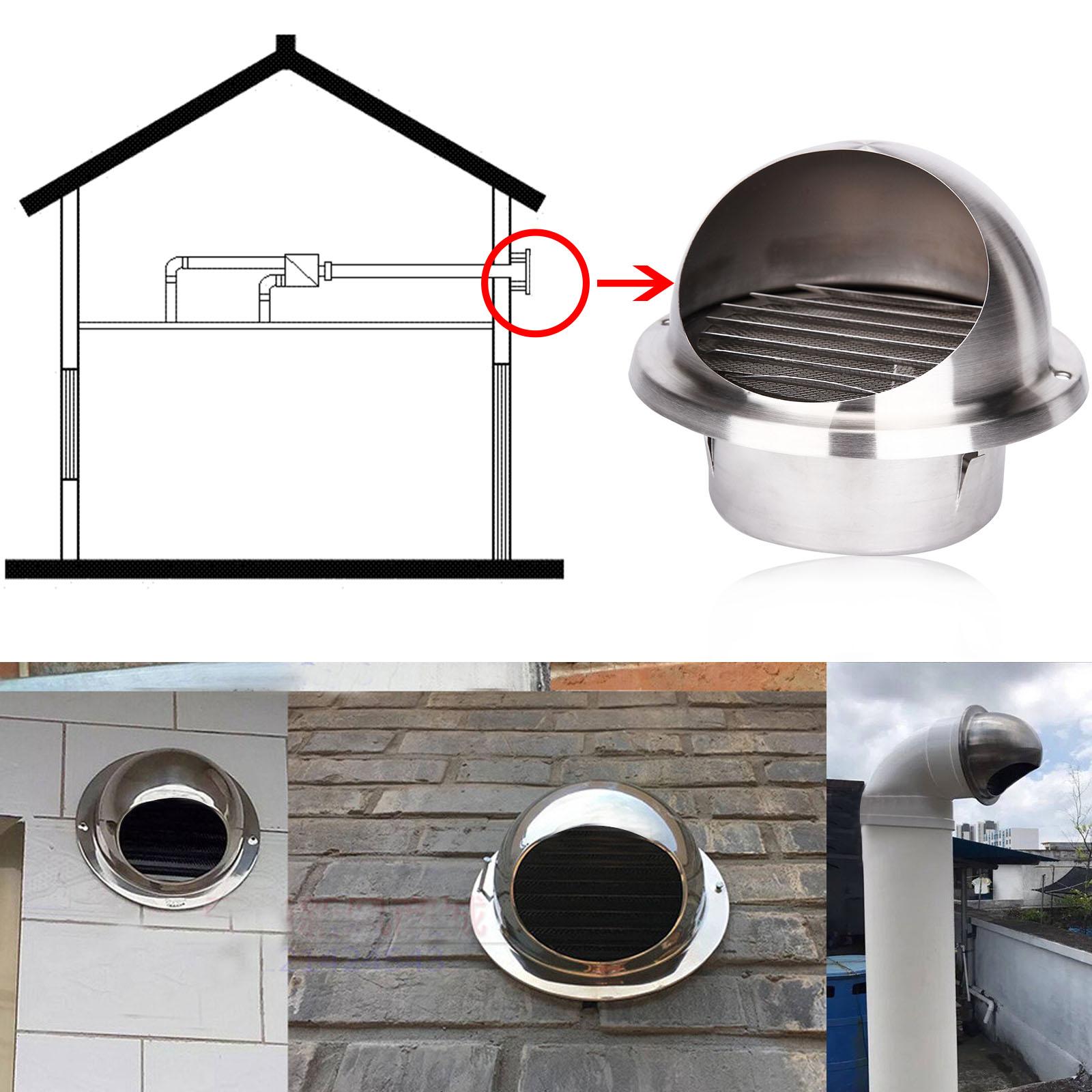 Sfiato d 39 aria ventilatore guadrato rotonda griglia - Cattivo odore bagno tubo di sfiato ...