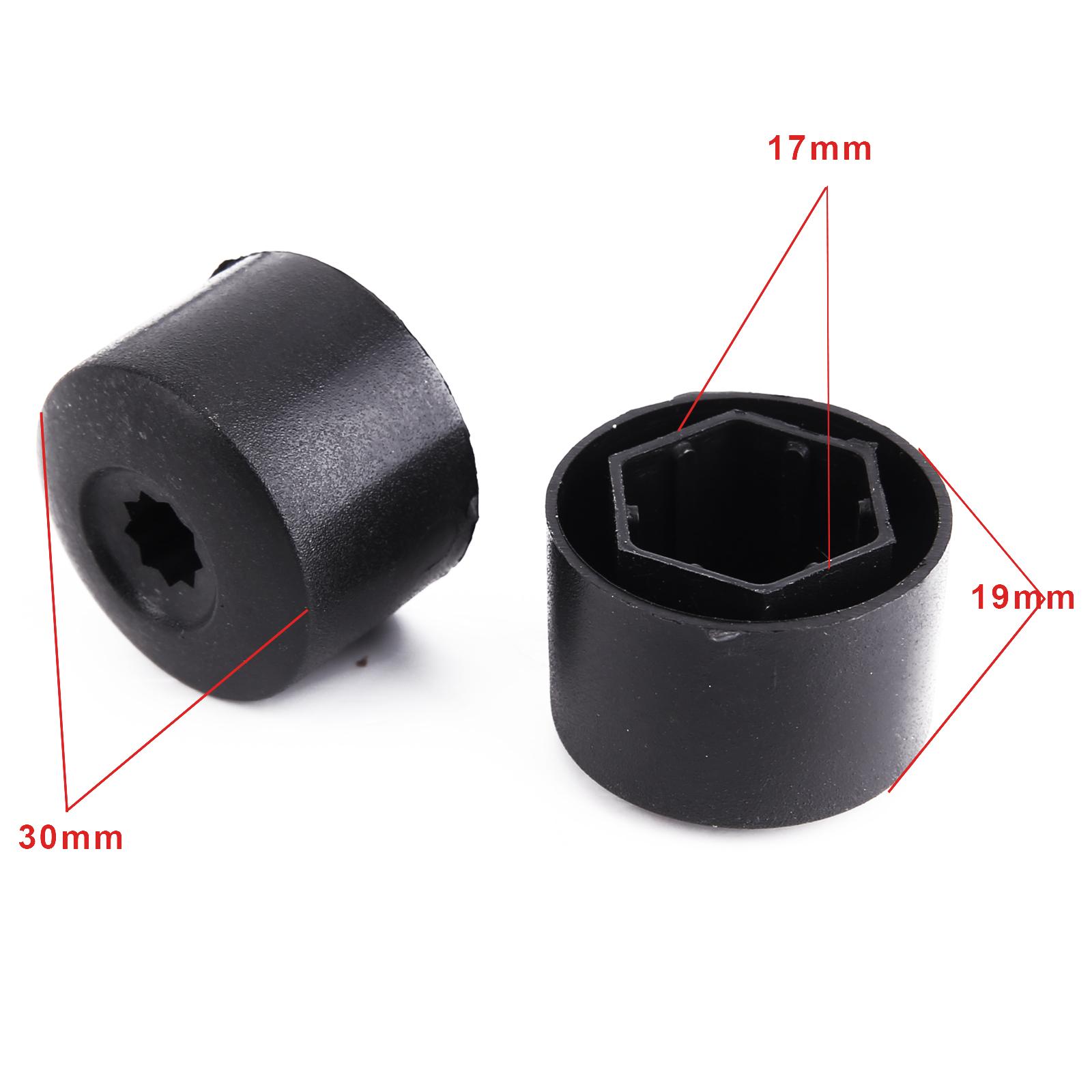 20 pieces cache ecrou protection 17mm vis roue jante pour vw golf 4 bora passat ebay. Black Bedroom Furniture Sets. Home Design Ideas