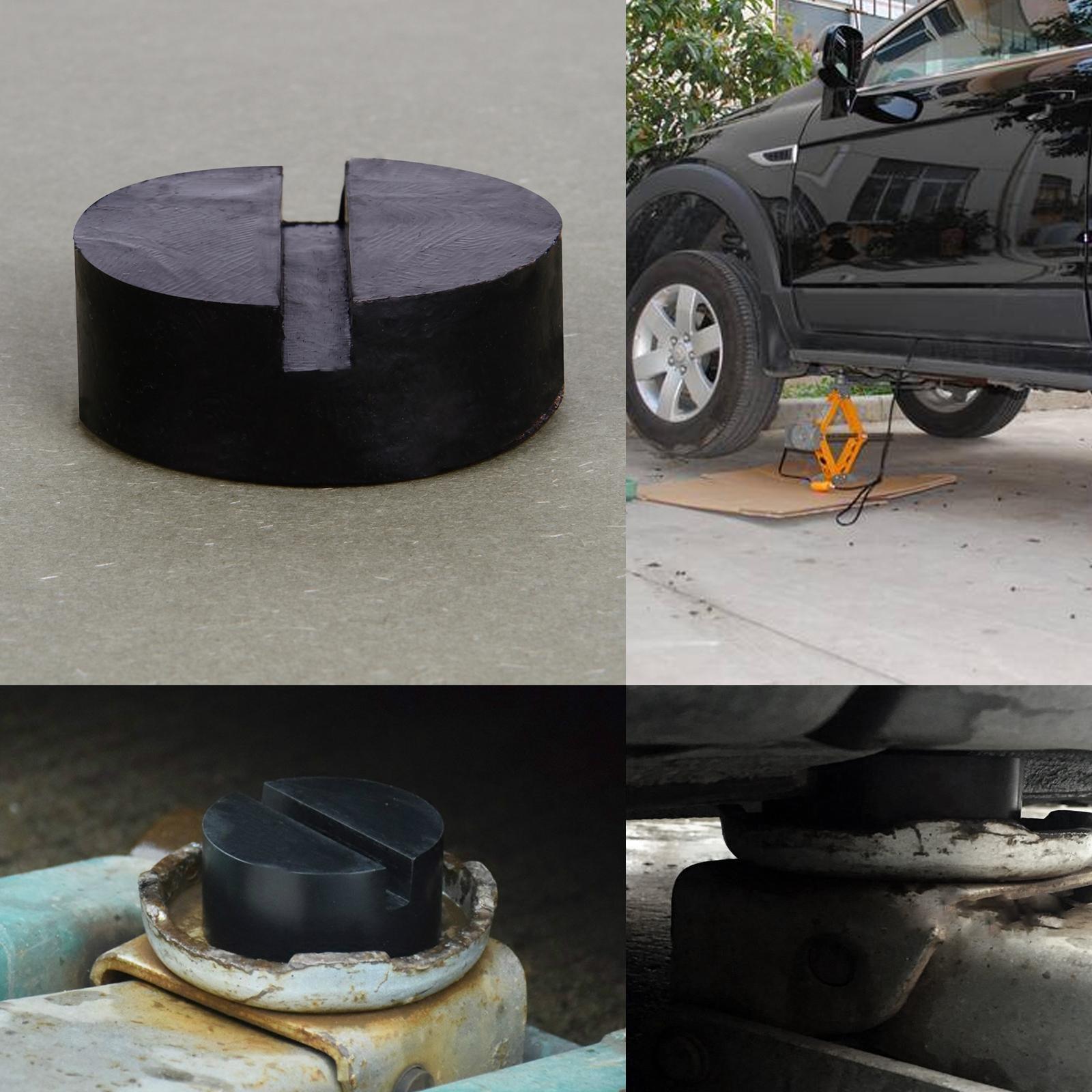 bloc caoutchouc cric de levage hydraulique solide voiture outil raparation ebay. Black Bedroom Furniture Sets. Home Design Ideas
