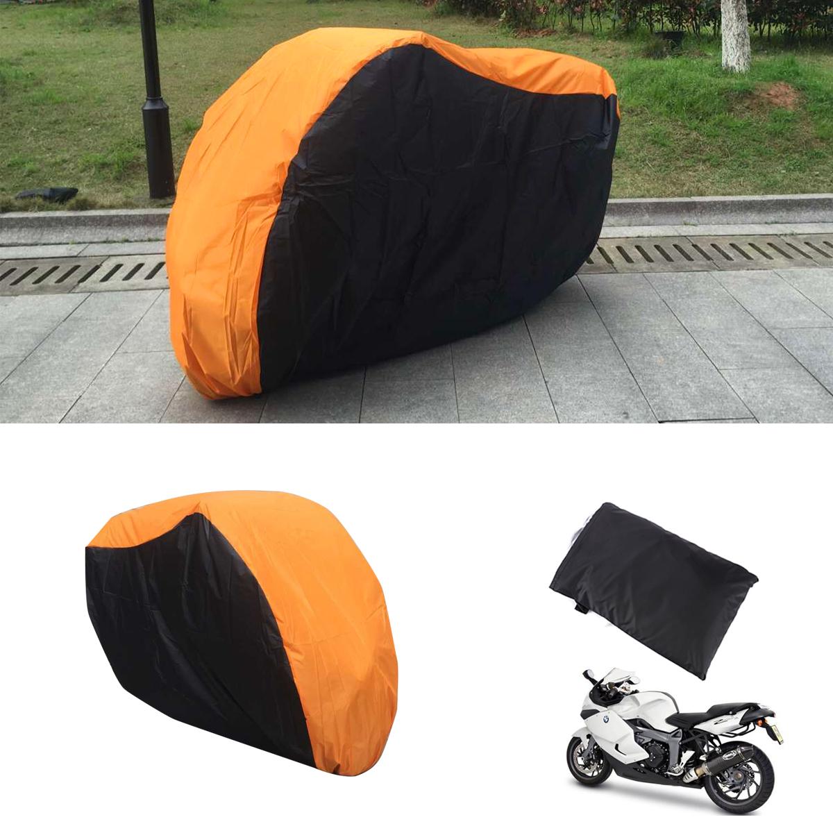 Housse bache moto protection interieur exterieur taille xl for Bache moto exterieur