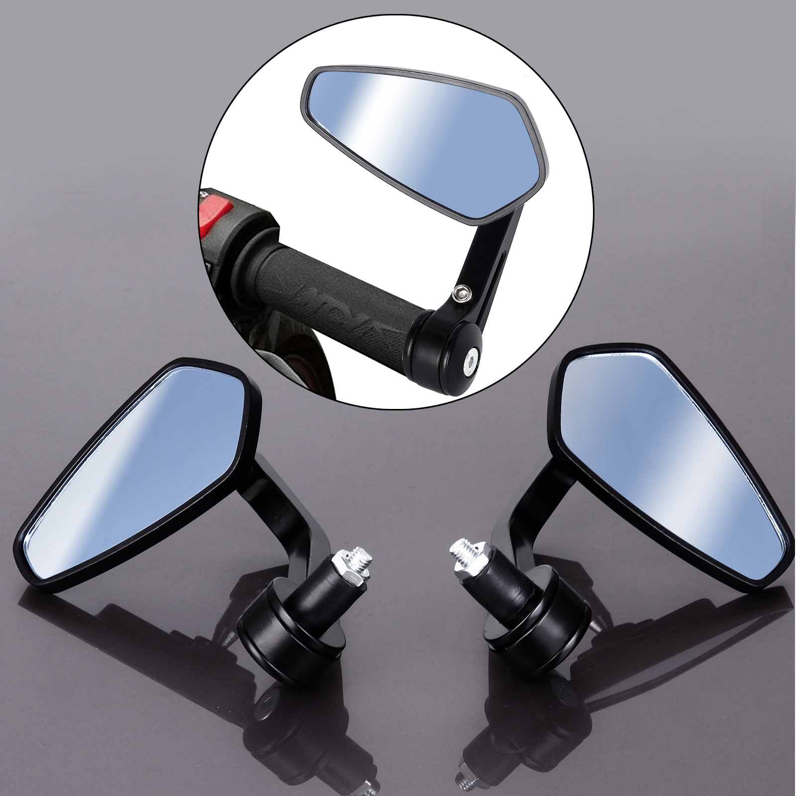 7 8 22mm lenker spiegel roller motorrad quad r ckspiegel for Spiegel quad