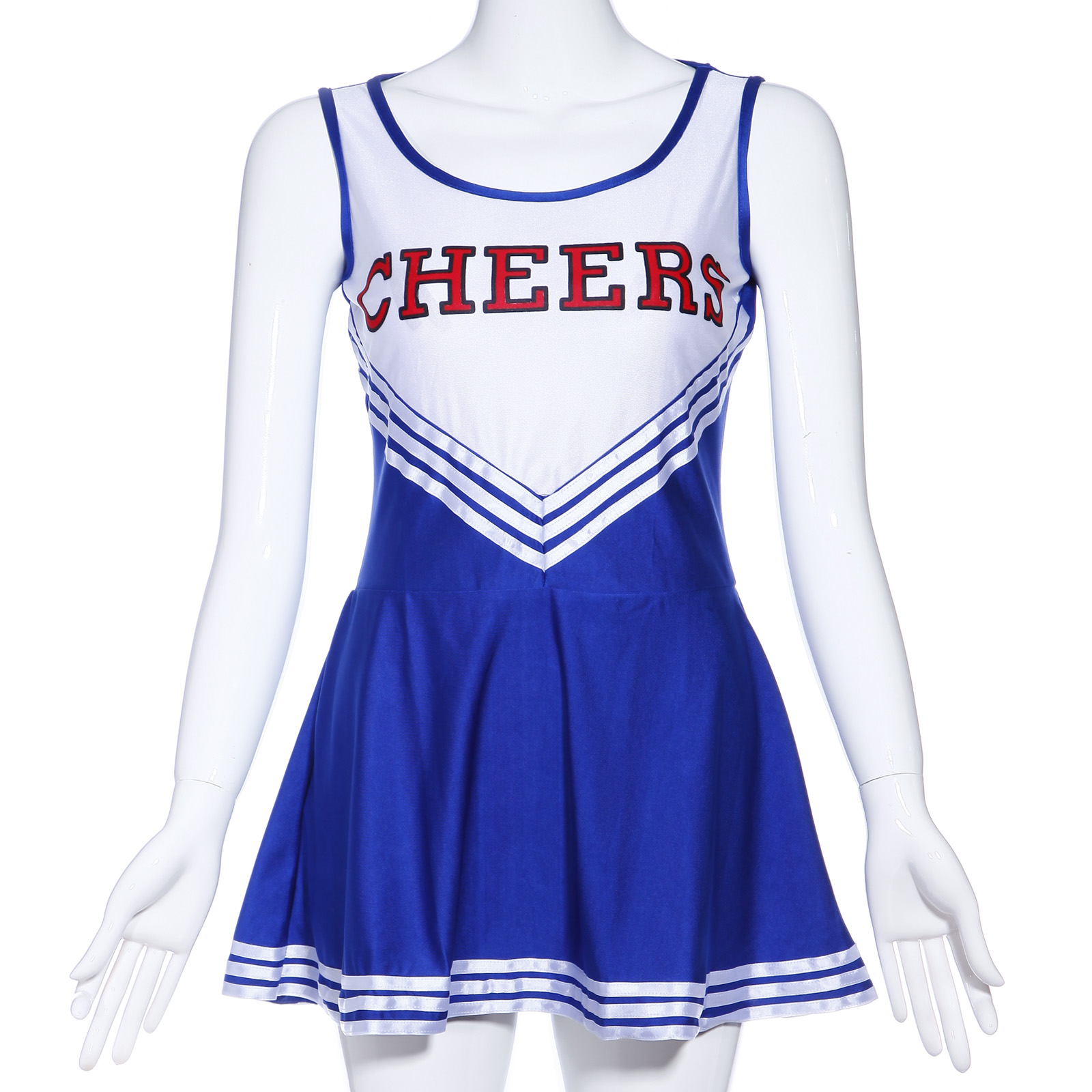 Snap Karneval Cheerleader Kostum Cheerleading Cheer Leader