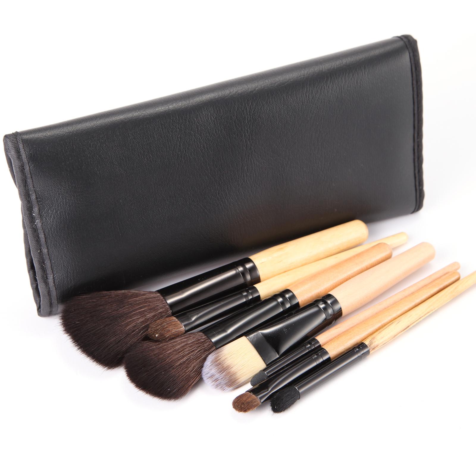 7er make up fantastisch kosmetik pinsel mit schwarze. Black Bedroom Furniture Sets. Home Design Ideas