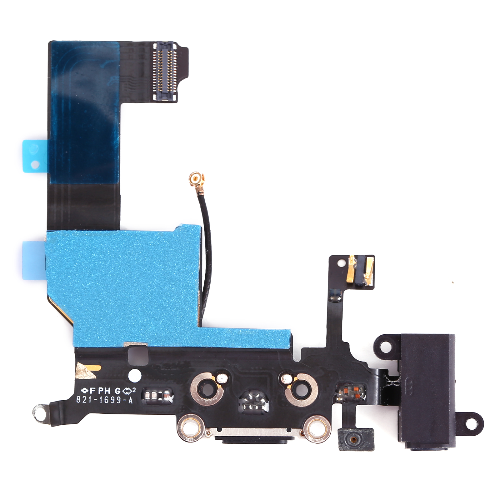 replace iphone charging port replacement charging port dock connector flex cable part 3039