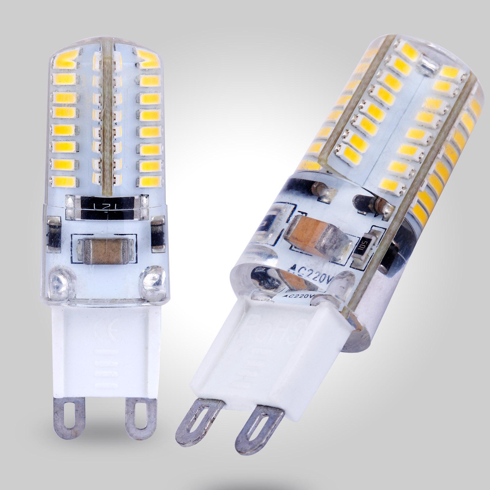 5x 3w led ampoules jaune chaud 64 led lampe decoration eclairage lumiere cafe ebay. Black Bedroom Furniture Sets. Home Design Ideas