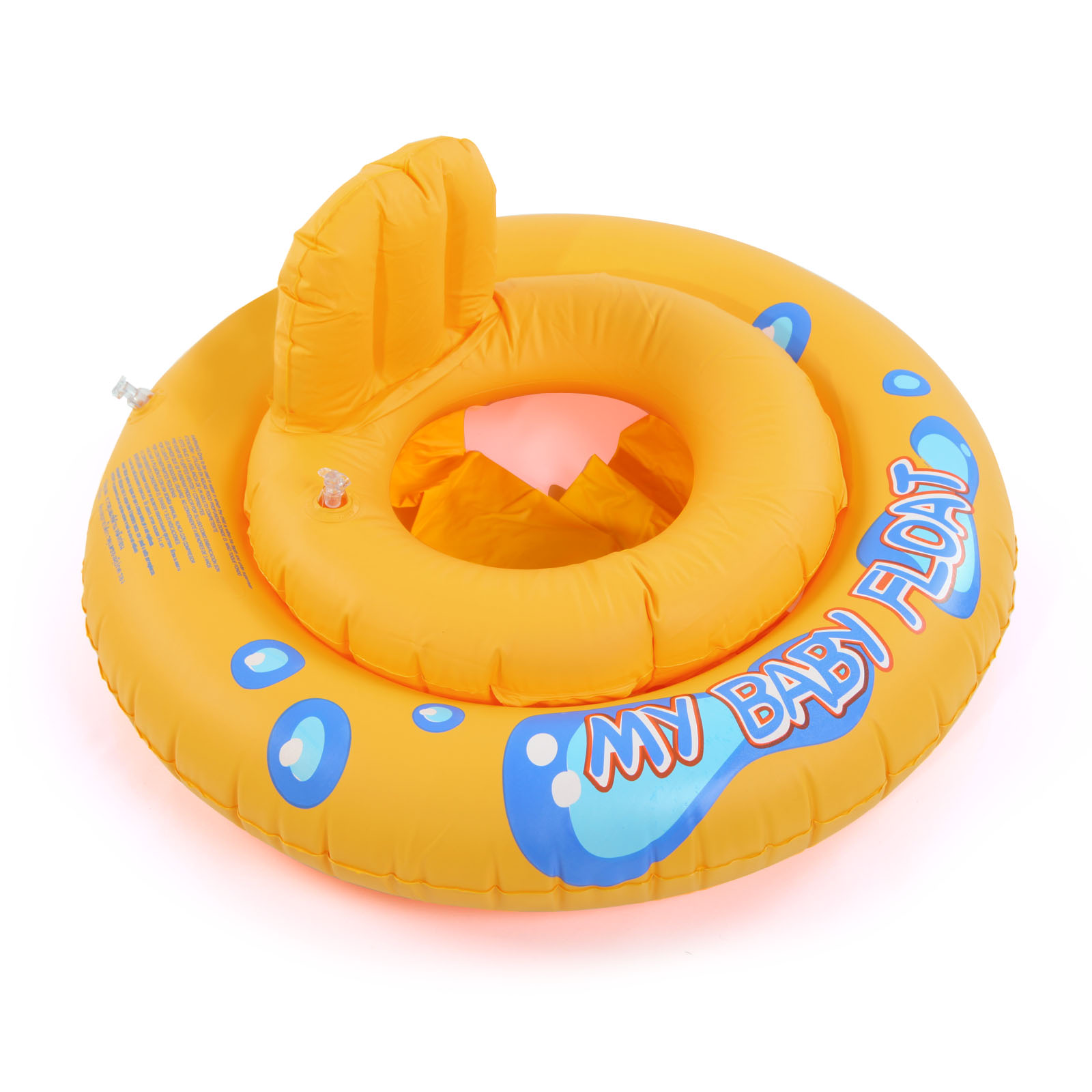 Baby Kids Swimming Seat Ring Water Inflatable Aid Trainer Toddler ...