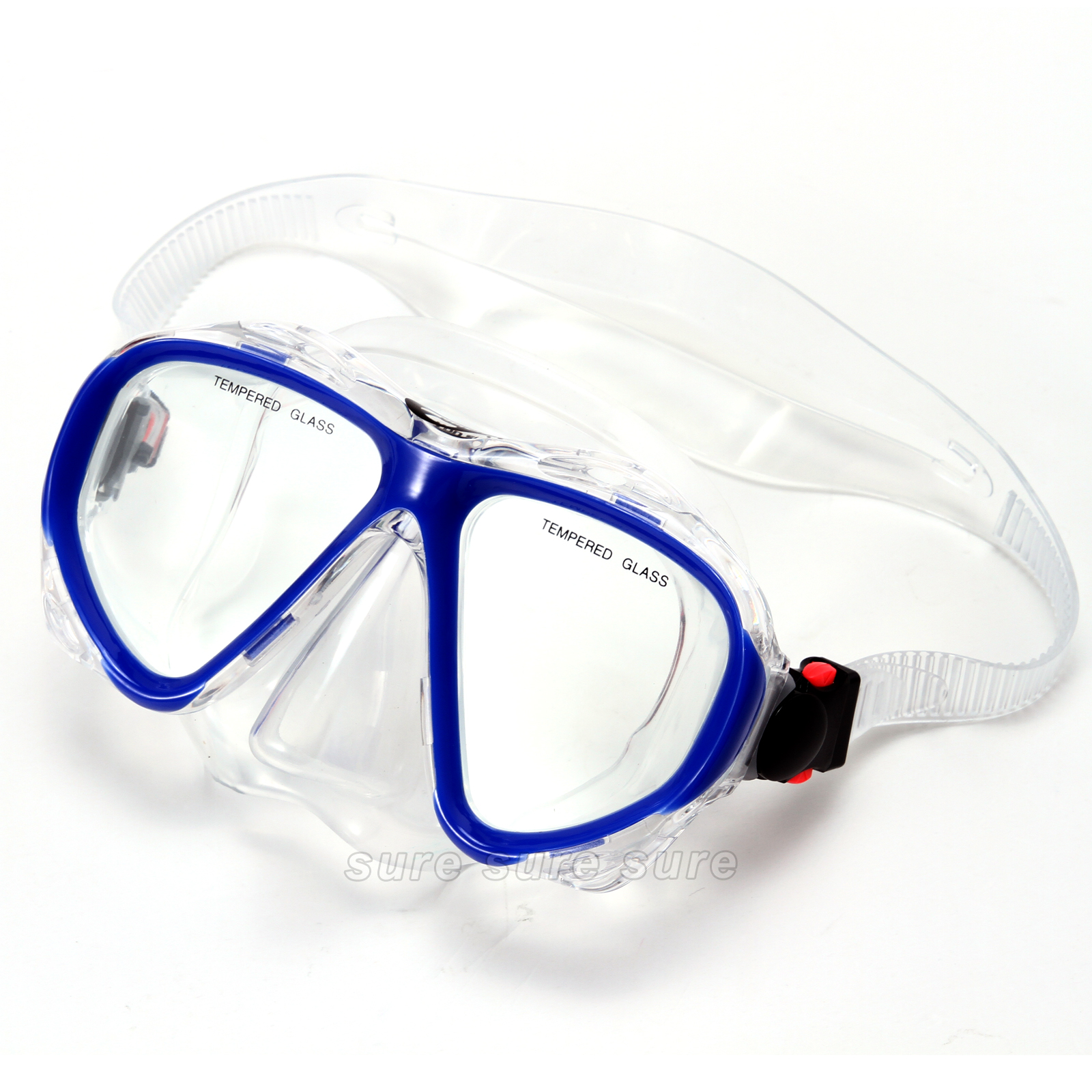 Schnorchelset Erwachsene Tauchmaske Taucherbrille Aus Temperglas