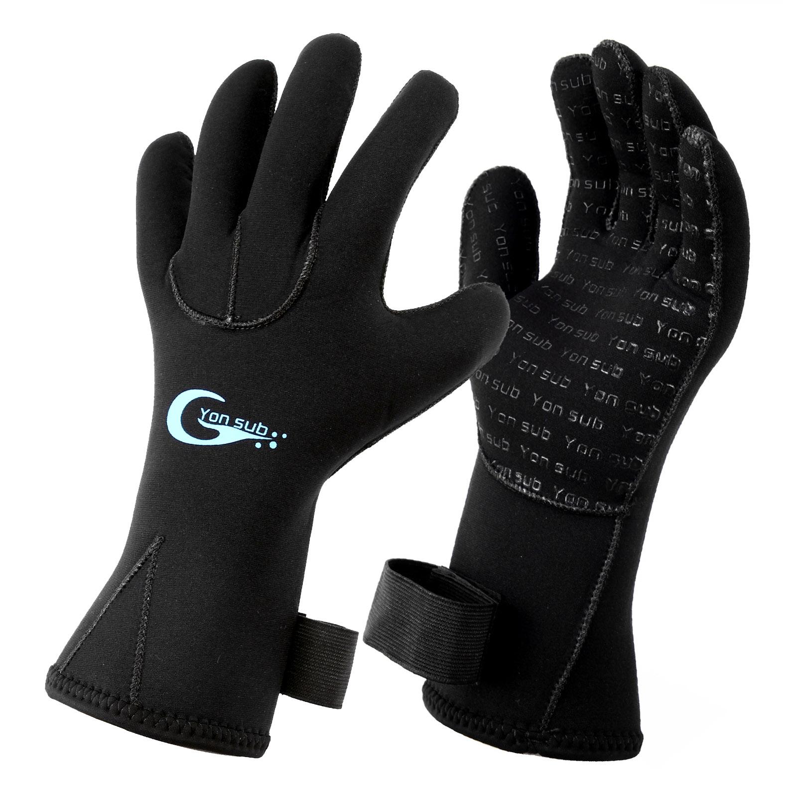 WETSUIT-GLOVES-SURFING-DIVE-SCUBA-DIVING-GLOVES-3MM-Diving-Glove-Neoprene-Gloves thumbnail 15