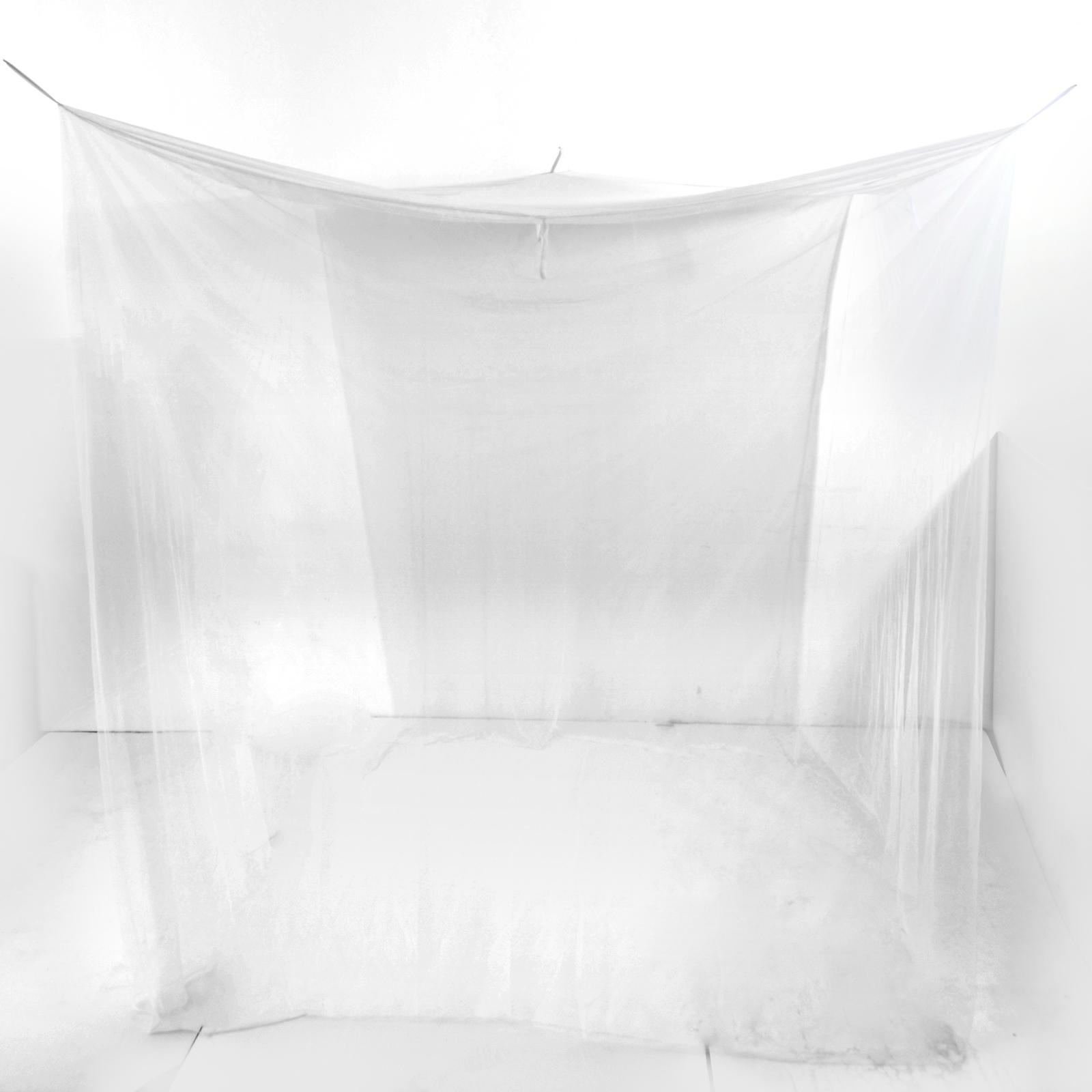 Tenda zanzariera riquadrante da letto rete protezione anti - Zanzariera da letto ikea ...