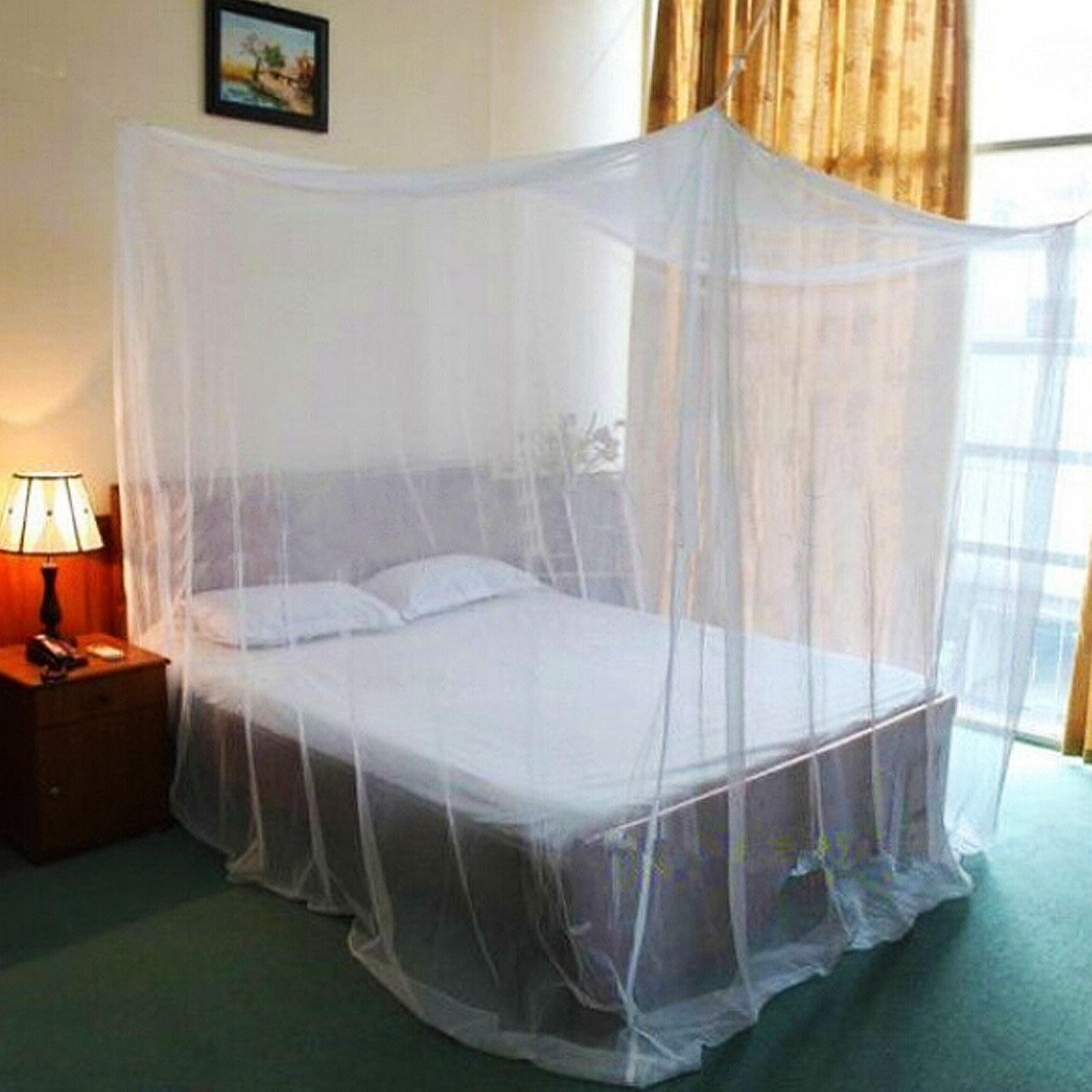 moskitonetz betthimmel fliegennetz m ckennetz doppelbett insektennetz reise netz ebay. Black Bedroom Furniture Sets. Home Design Ideas