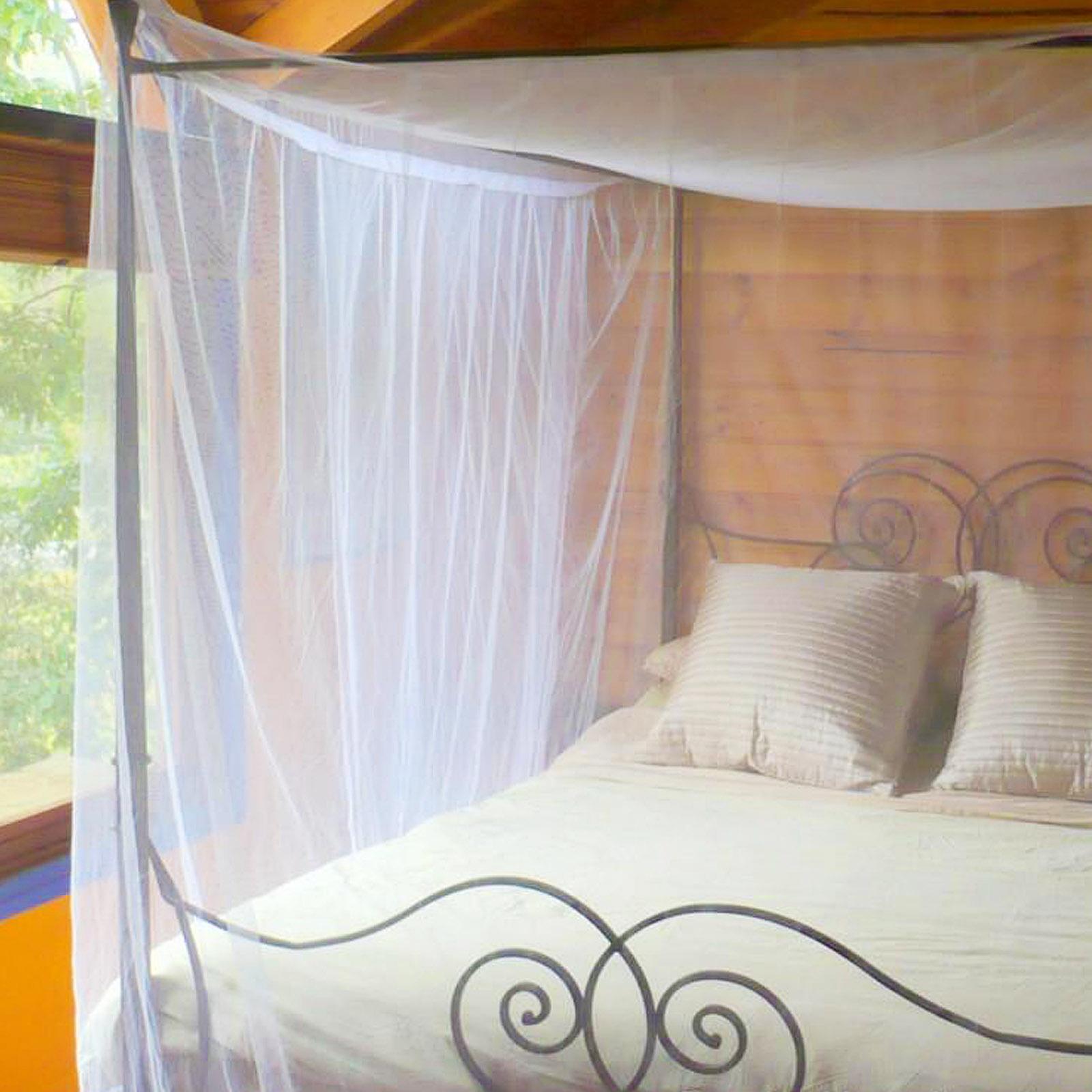 Moskitonetz Himmelbett Für Doppelbetten 220x200 X210cm Fliegengitter  Fliegennetz