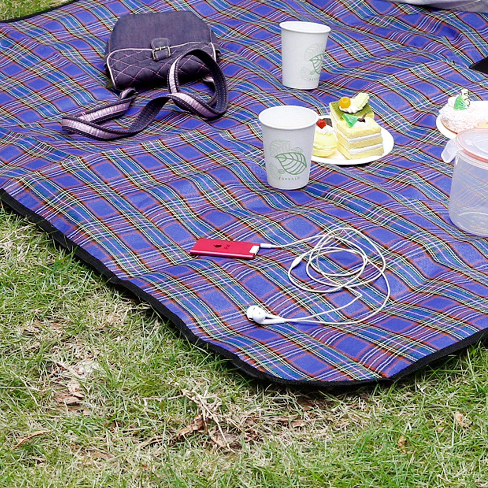 Waterproof Beach Mat Picnic Blanket Portable Camping ...