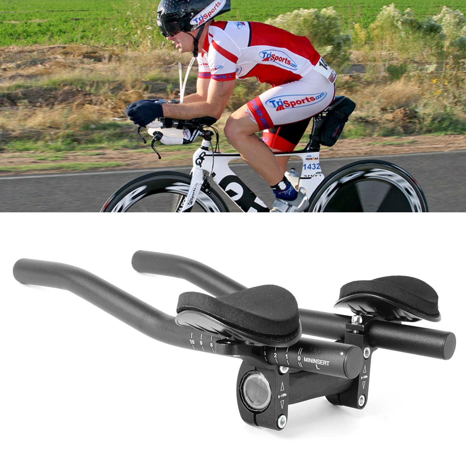Road Mountain Bike Bicycle Alloy Triathlon Aero Rest