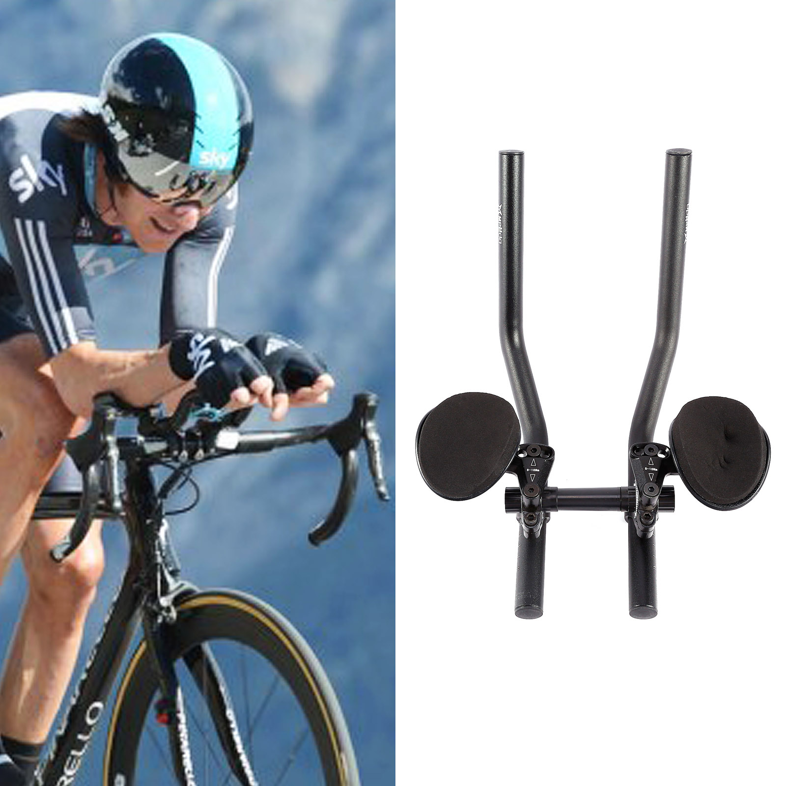 fahrrad triathlon lenker aufsatz triathlonaufsatz system. Black Bedroom Furniture Sets. Home Design Ideas