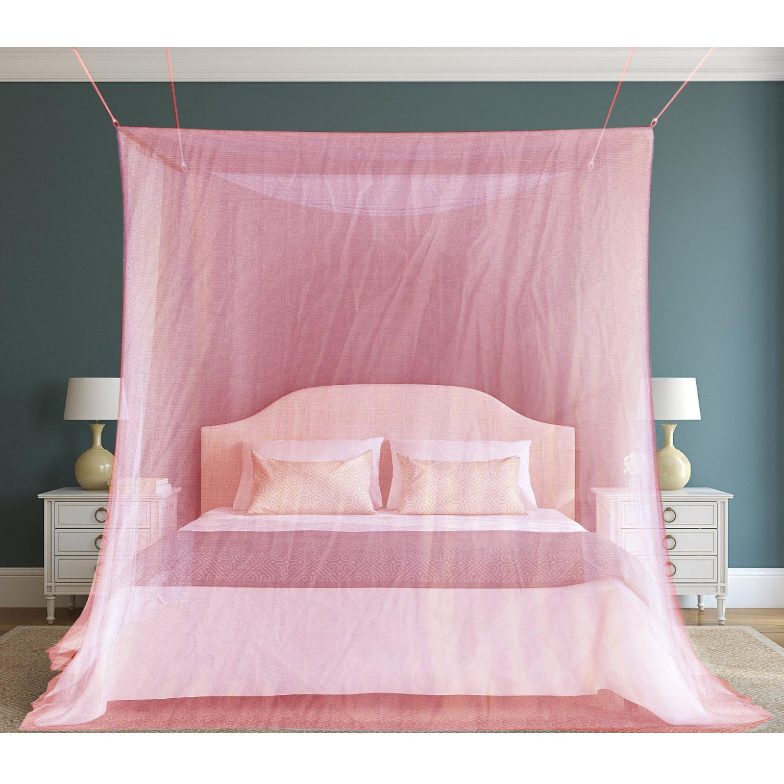 Tenda riquadrante zanzariera da letto rete protezione - Insetti da letto ...