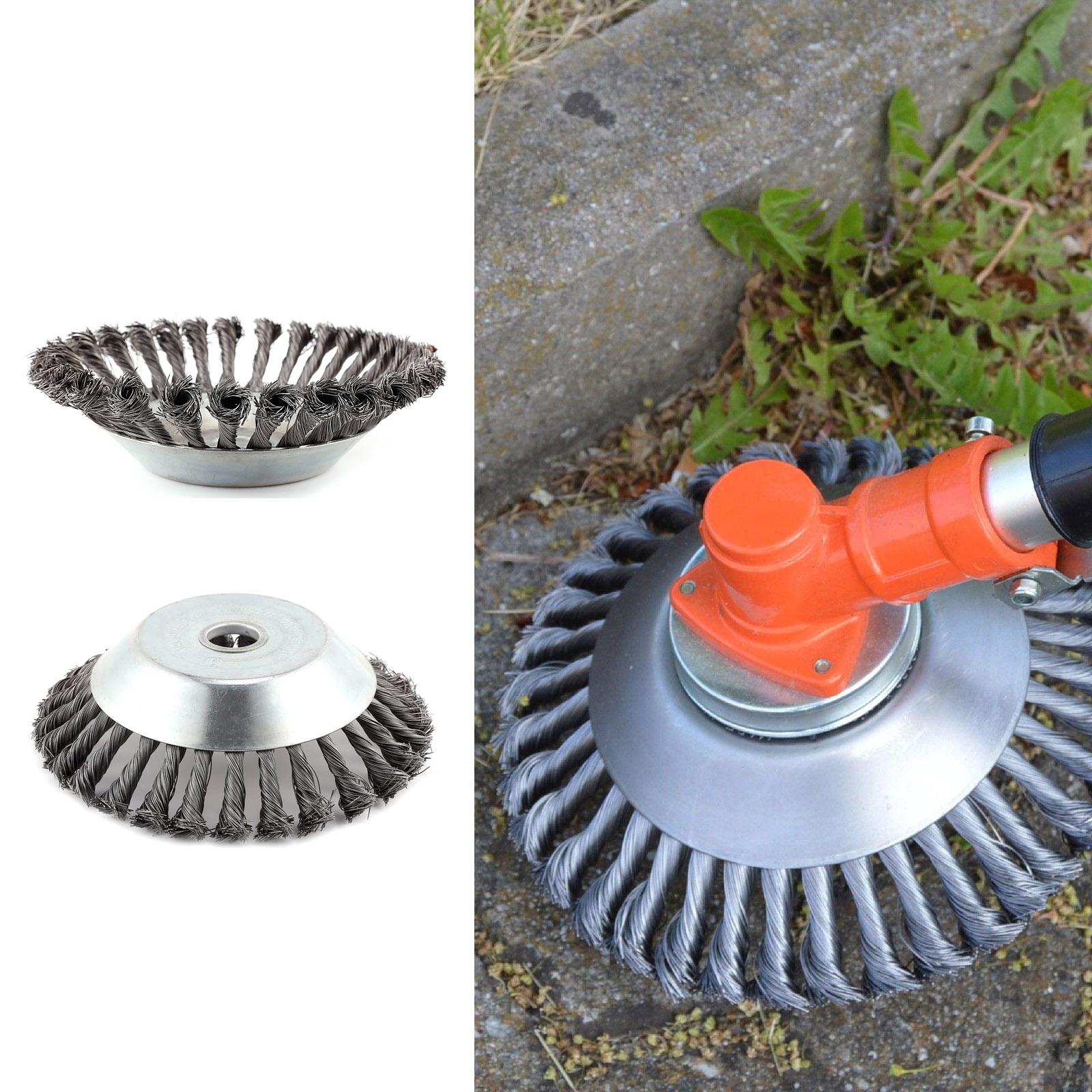 Unkrautbürste Motorsense Freischneider 200 x 25,4 mm