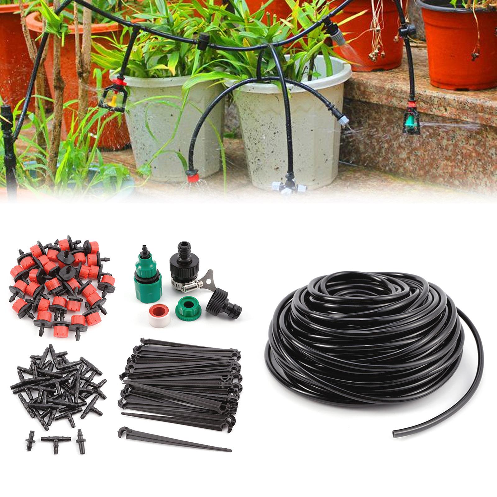 Bewässerung Kit Schlauch für Bewässerungssystem DIY Garten Teressse Balkon 50m