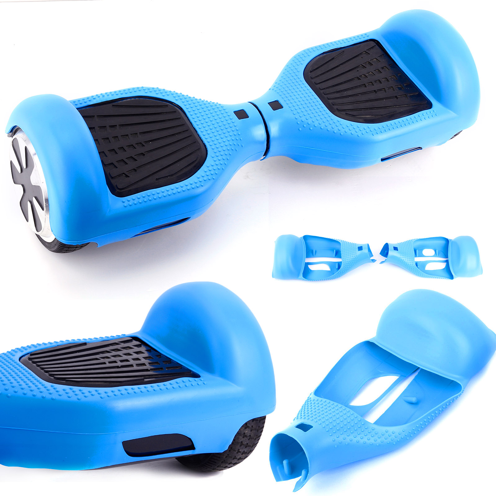 Couleur a choix coque protection hoverboard scooter self for Housse pour hoverboard