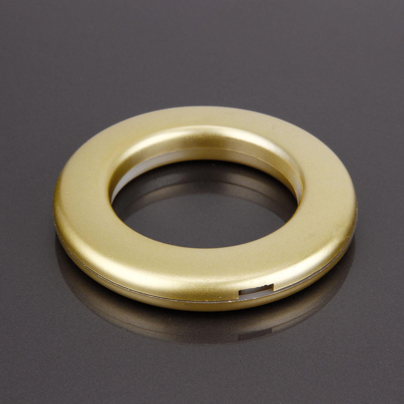 20//40 Set Kunststoff Ösen Stoffösen mit 40 mm Stoffloch für Vorhänge Gardine