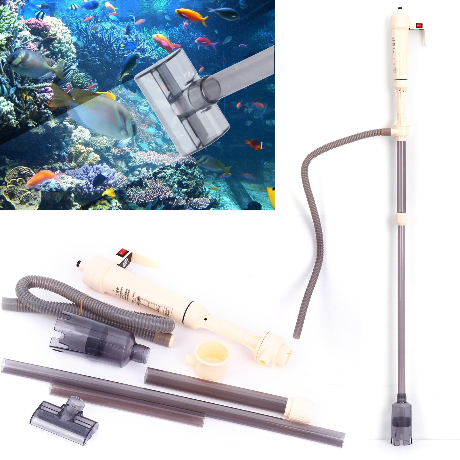 sifone elettrico vuoto pompa per pulire acquario ghiaia