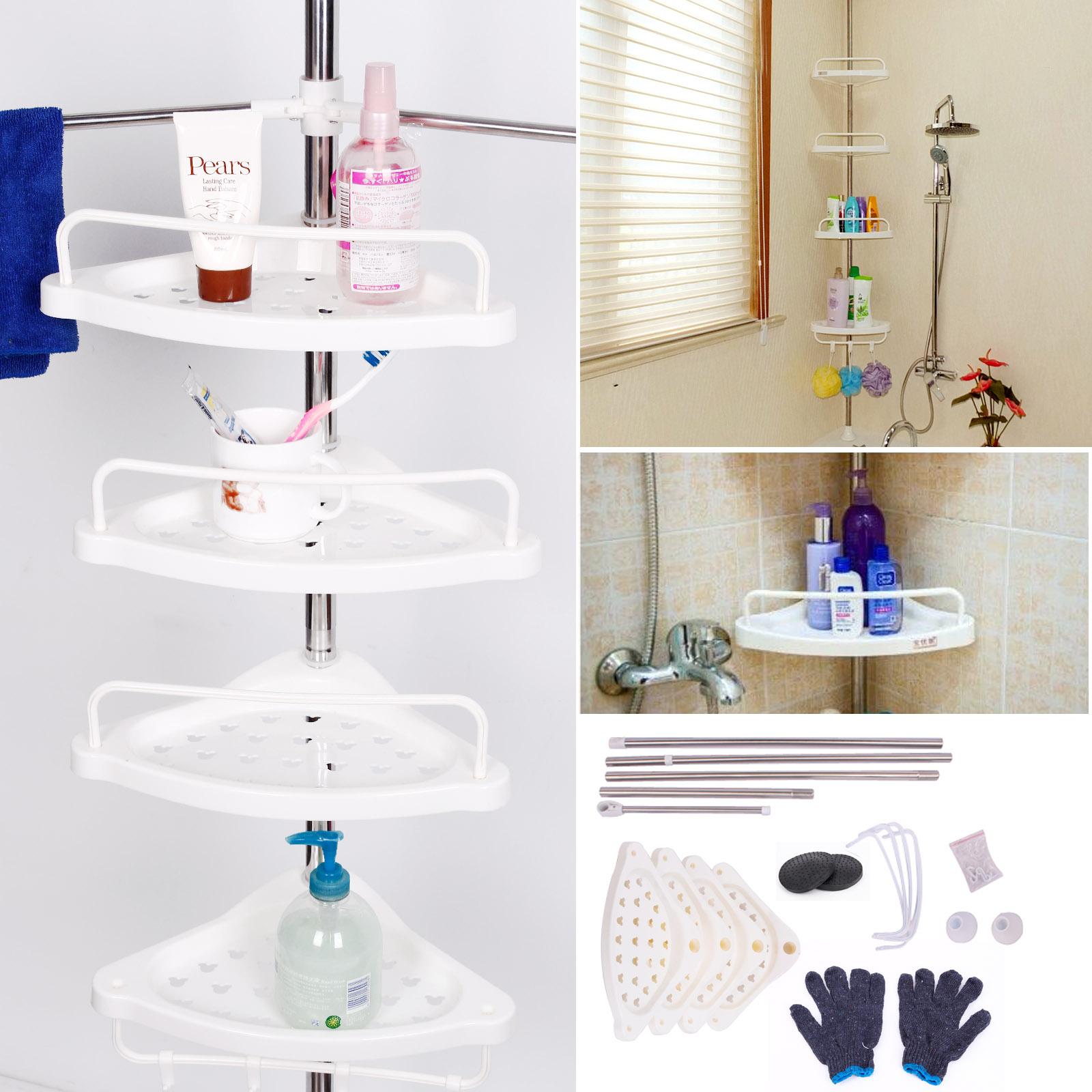 Mensola supporto acciaio portaoggetti asciugamano bagno - Portaoggetti bagno ...