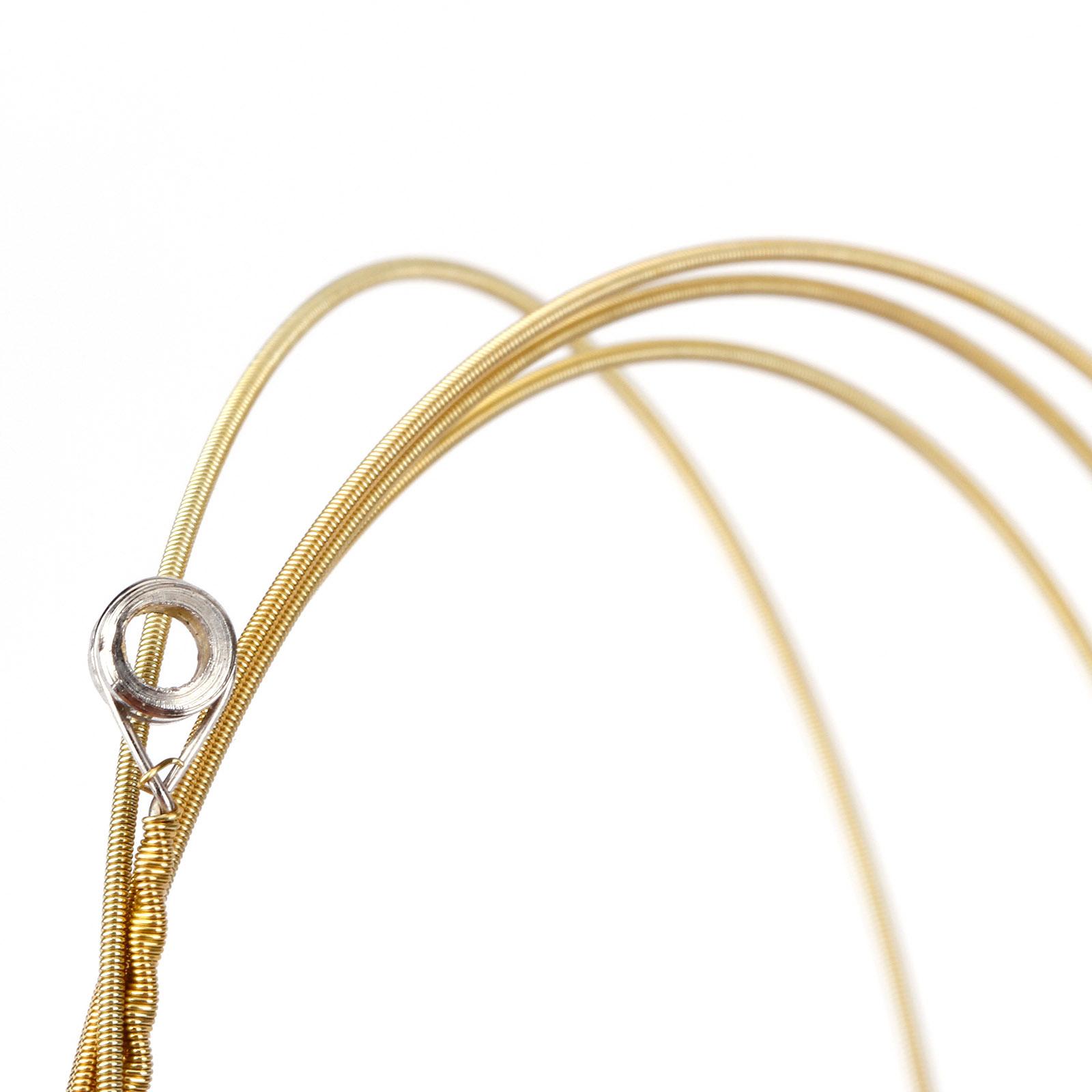 24pc steel acoustic guitar strings medium gauge strings accessories ebay. Black Bedroom Furniture Sets. Home Design Ideas
