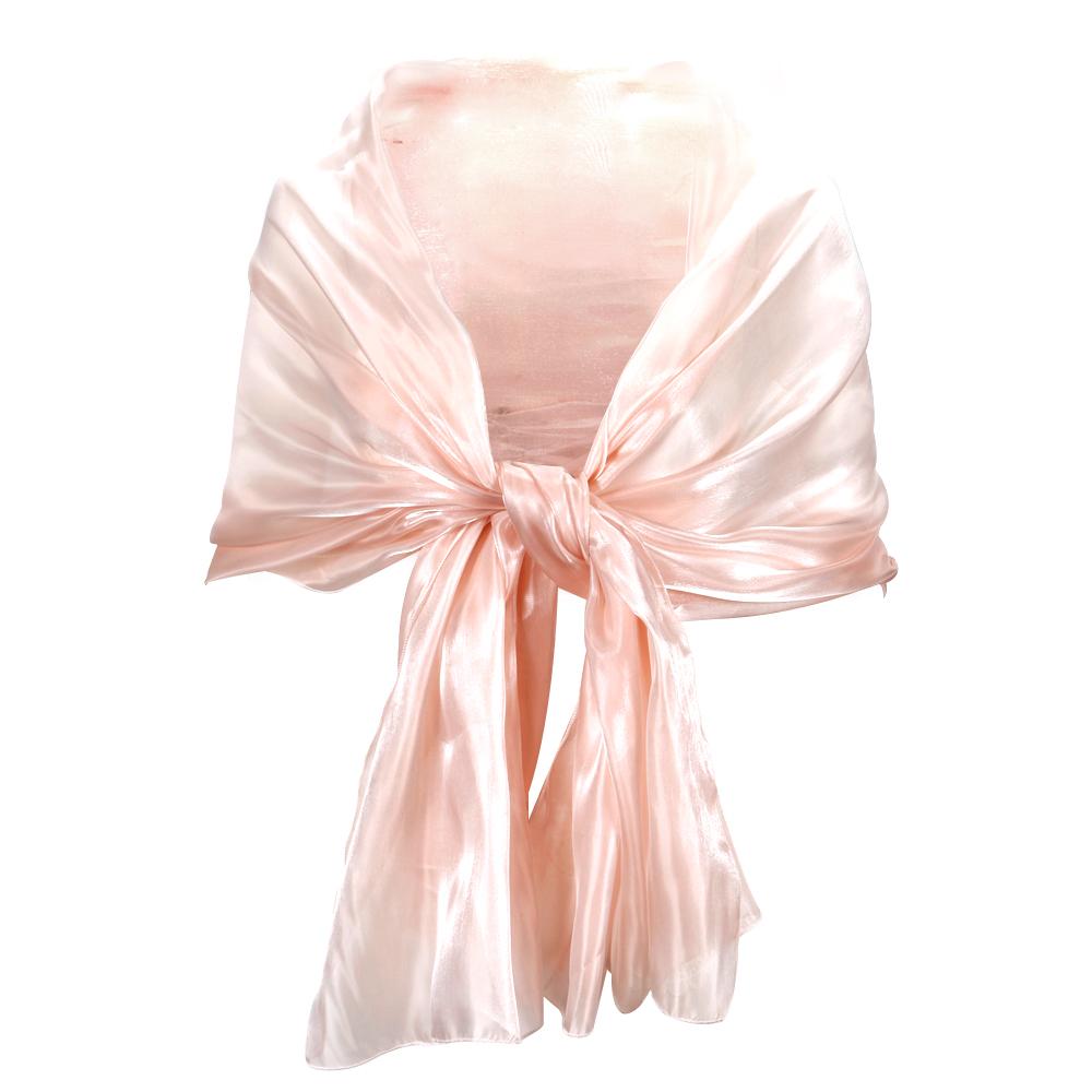 Silky Light Wrap Stole Shawl Wedding Bridal Bridesmaids Evening Wear ...