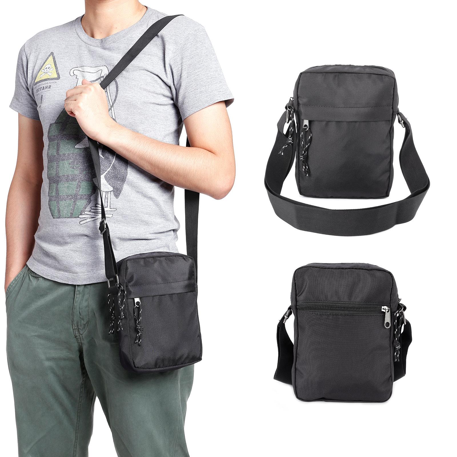 ed48e716c16f Mens Gents Waterproof Shoulder Bag Cross Body Messenger Travel Bag ...