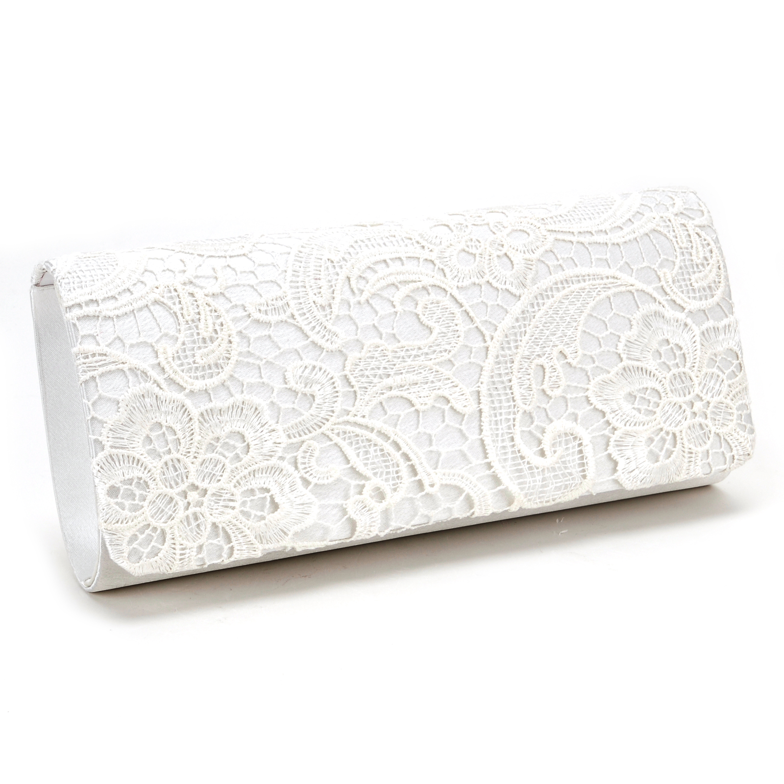 1c7033a2f959 Black White Navy Blue Floral Lace Evening Party Clutch Bag Bridal .
